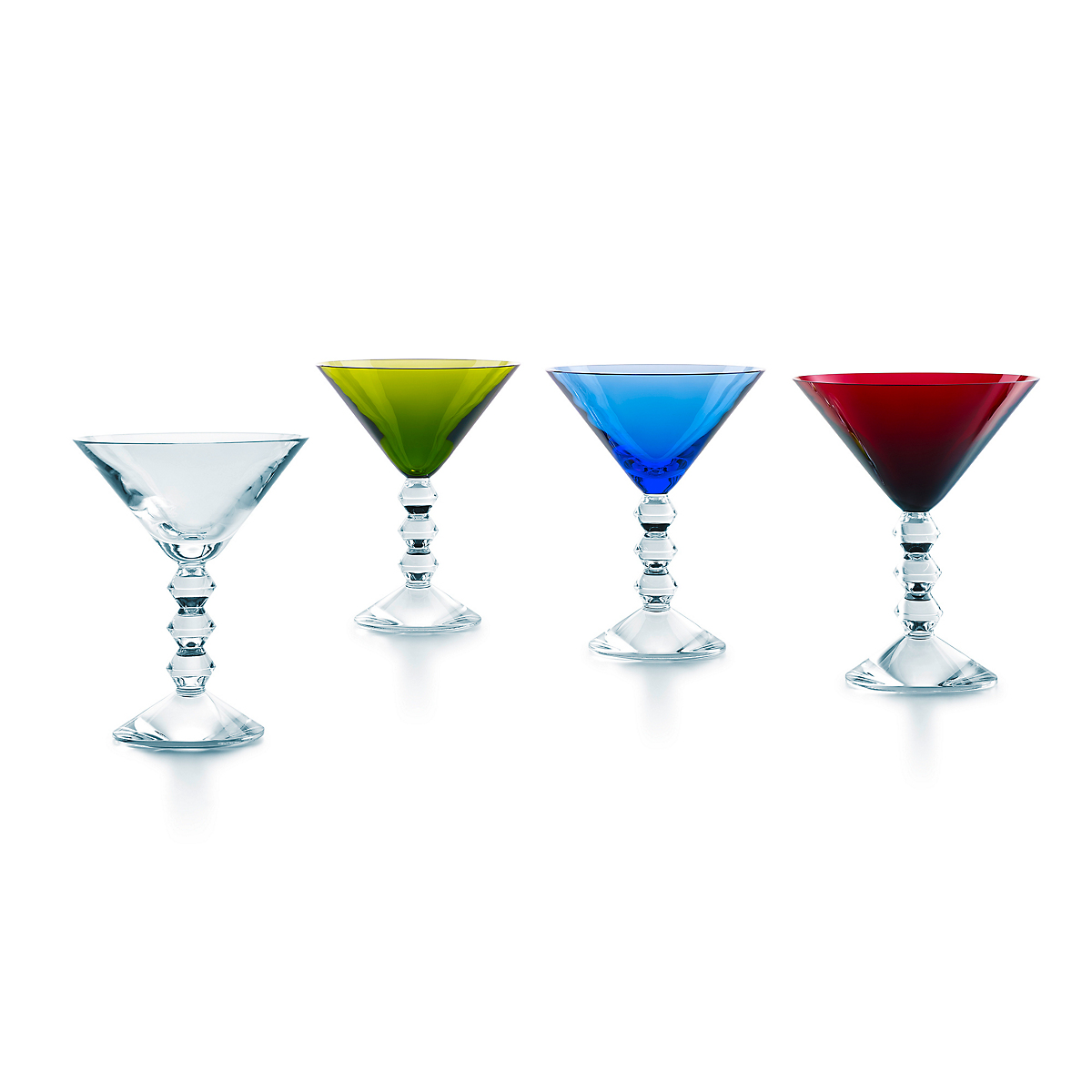 Baccarat Vega Martini, Set of 4 Assorted