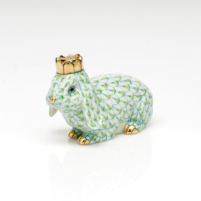 Herend Royal Bunny, Lime