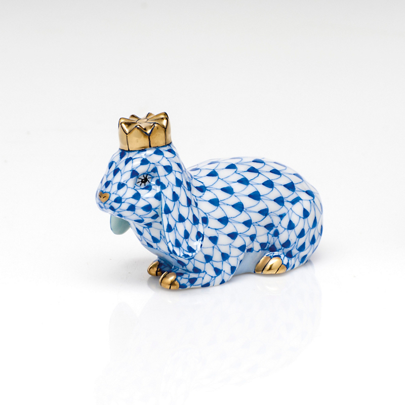 Herend Royal Bunny, Sapphire