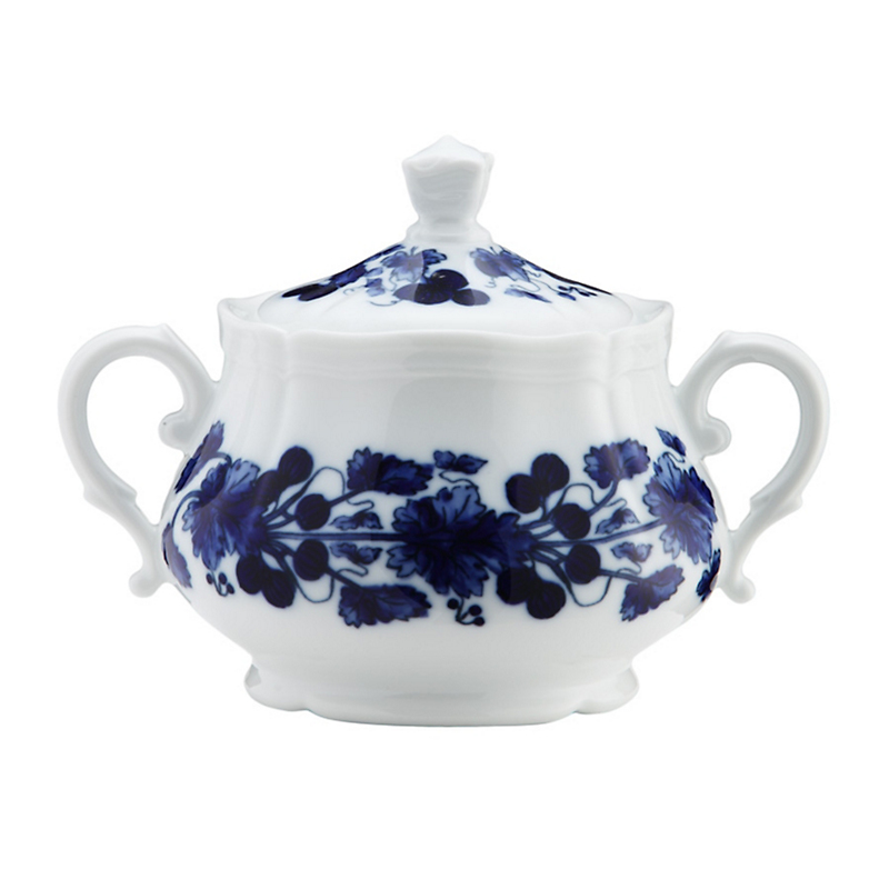 Richard Ginori Babele Antico Sugar Bowl with Lid