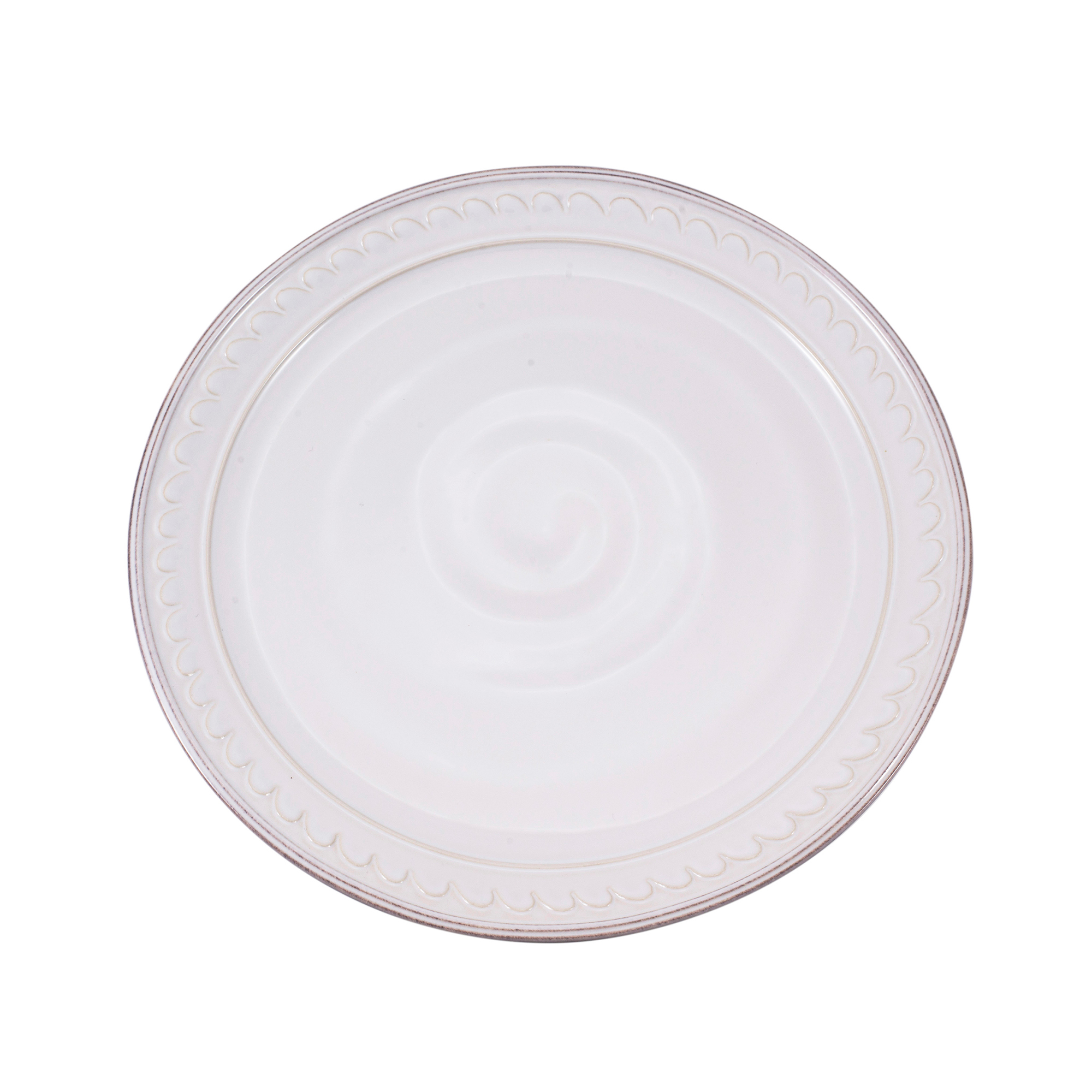 Simon Pearce Hartland Wave Salad Plate