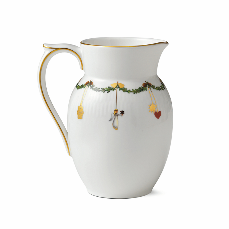 Royal Copenhagen Star Fluted Jug