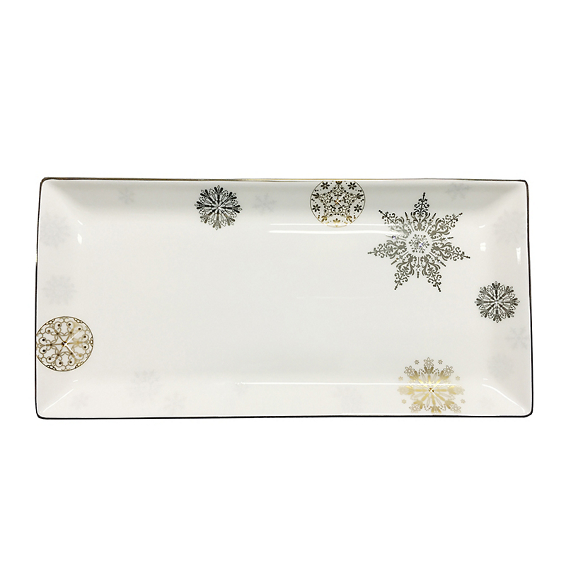 Prouna Winter Crystal Sandwich Tray