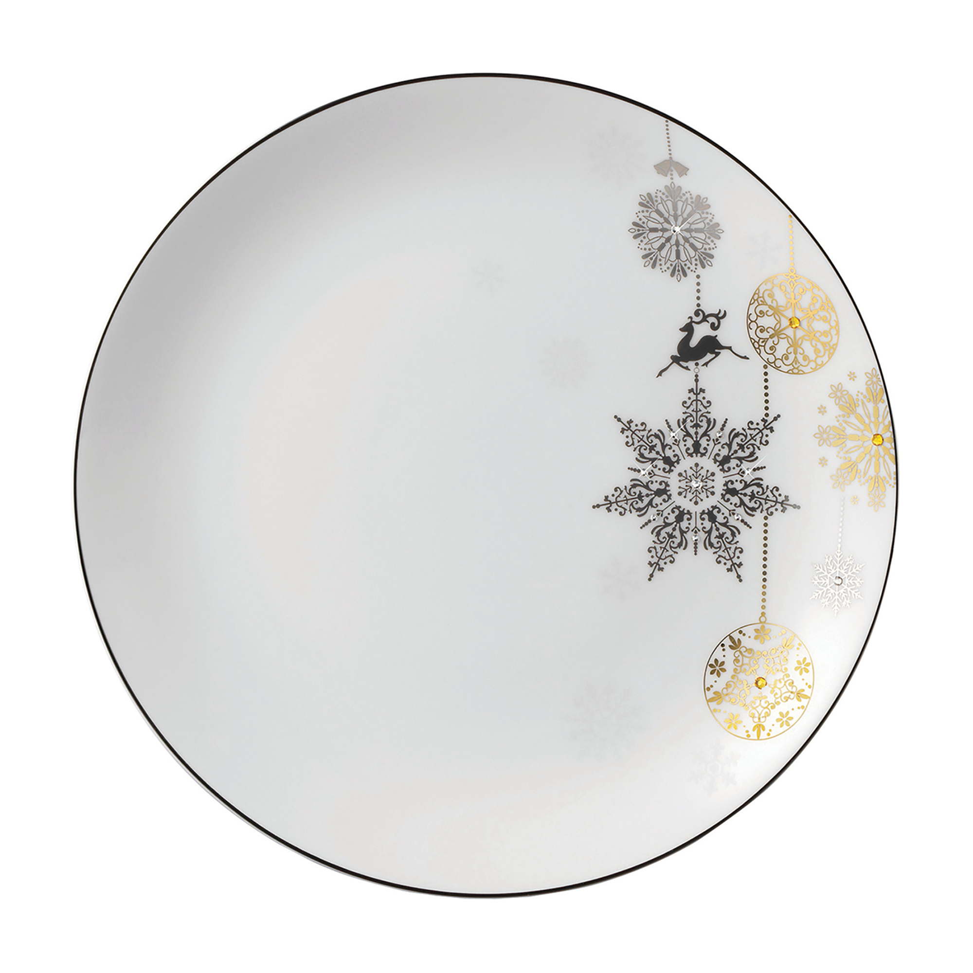 Prouna Winter Crystal Plate