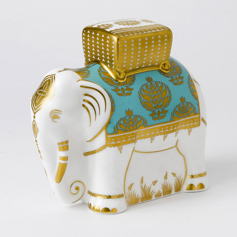 Royal Crown Derby Elephant Paperweight