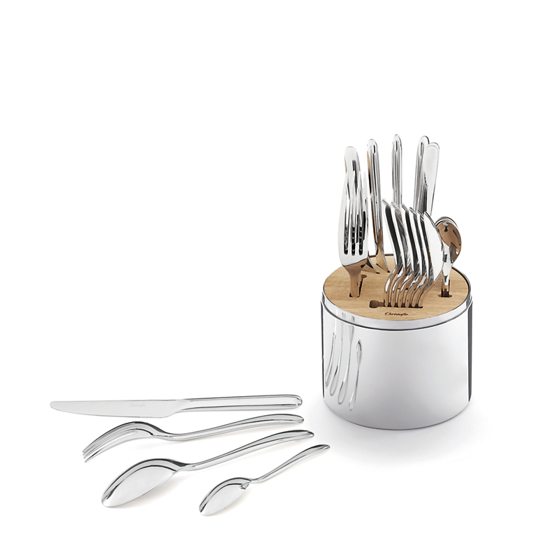 Christofle Essentiel 24-Piece Flatware Set