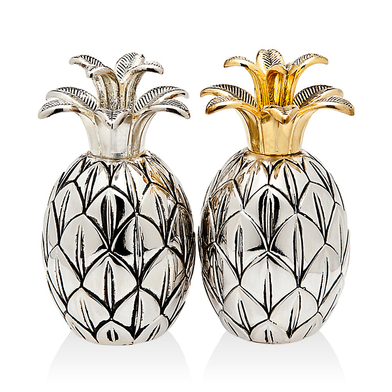 Godinger Silver Pineapple Salt & Pepper Shakers