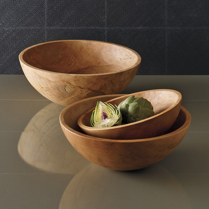 Peterman Spalted Maple Bowls
