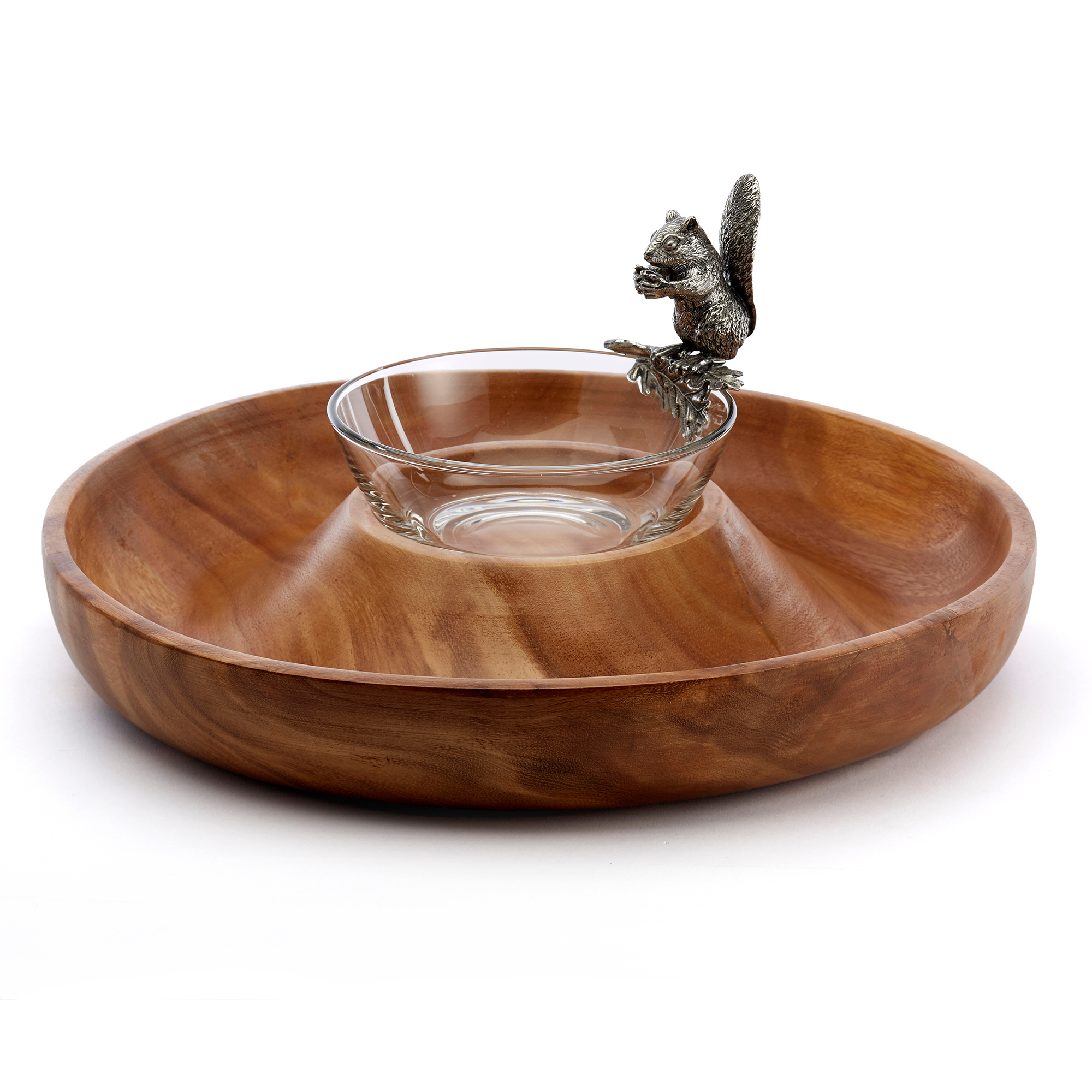 Vagabond House Squirrel Ring Serve Bowl