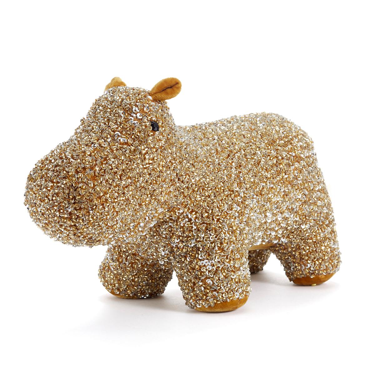 Anke Drechsel Luxus Hippo, Gold | Gump\'s