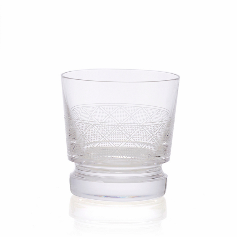 Christofle Jardin D'Eden Double Old-Fashioned Glass