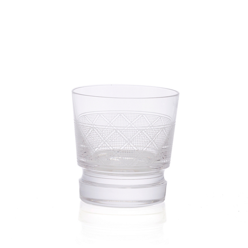 Christofle Jardin D'Eden Old-Fashioned Glass
