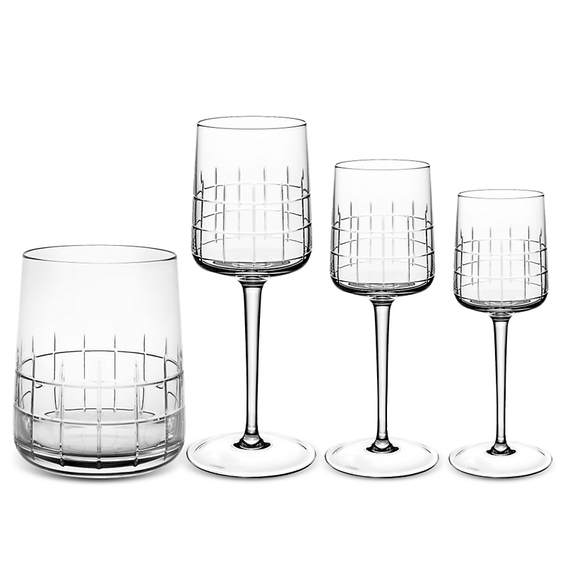 Christofle Graphik Glassware