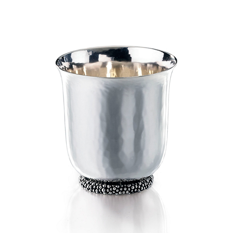 Buccellati Caviar Sterling Silver Vodka Shot
