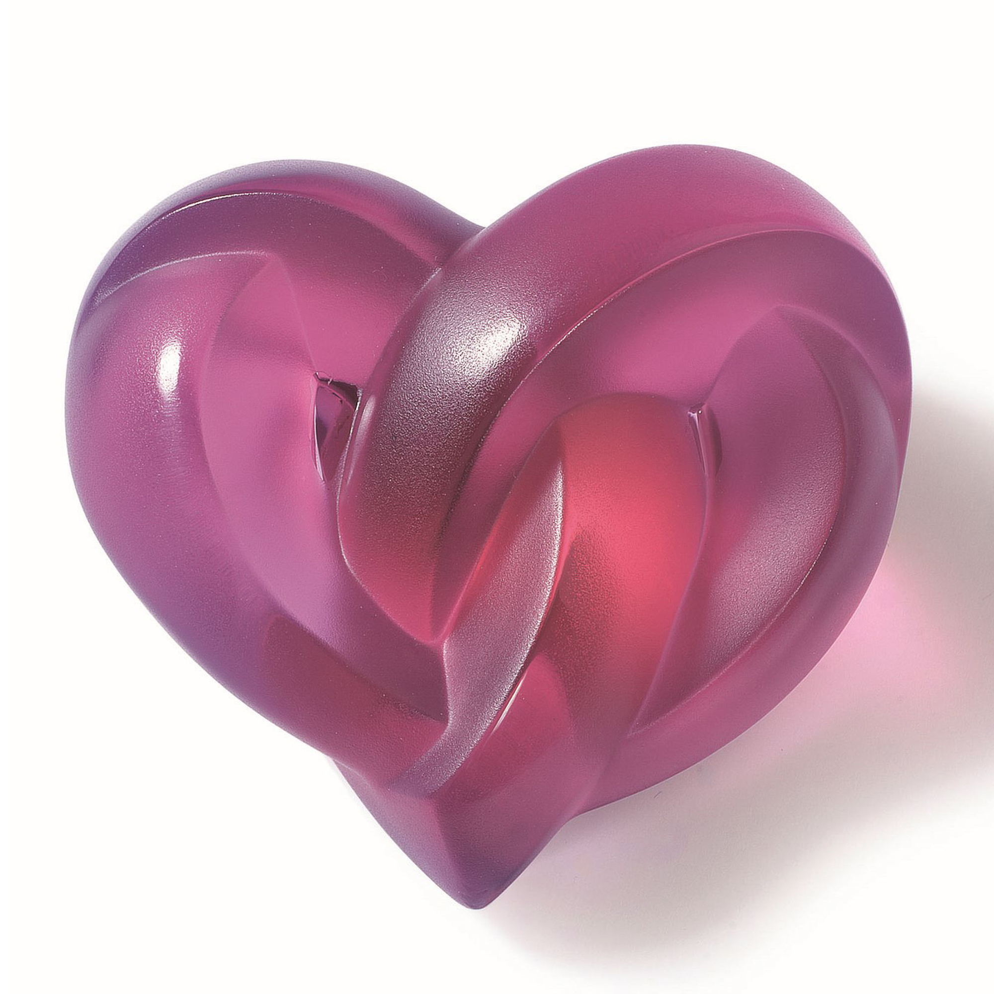 Lalique Heart Paperweight