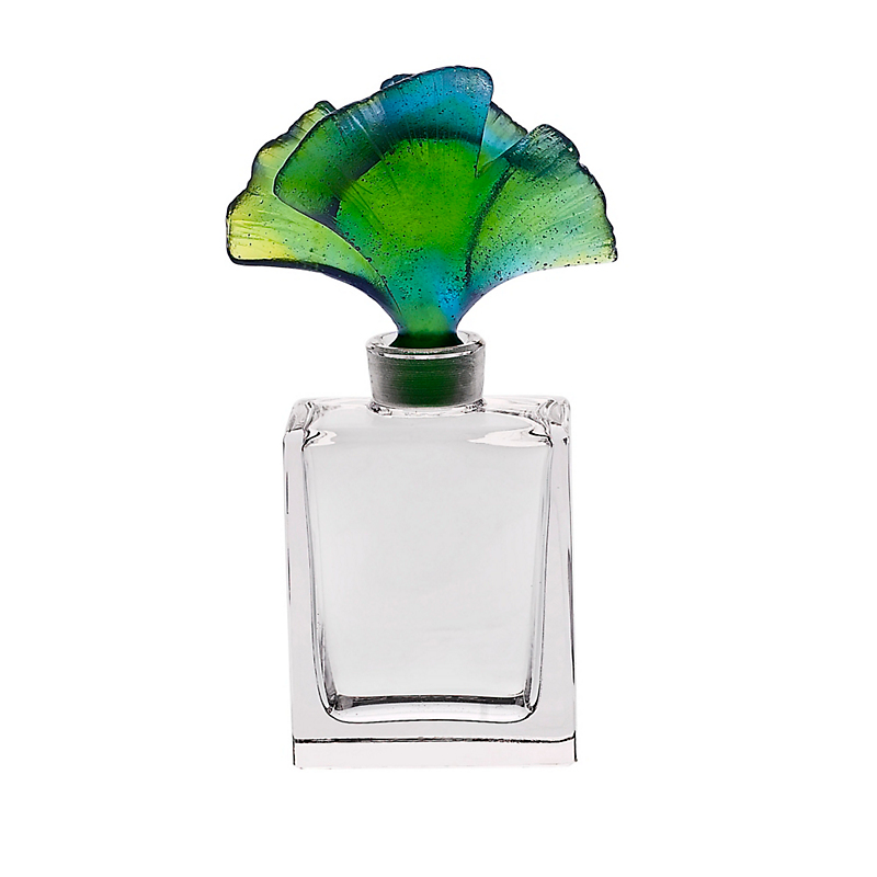 Daum Crystal Mini Ginkgo Perfume Bottle