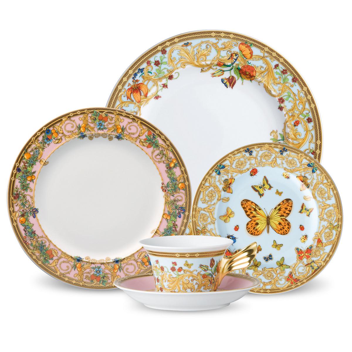 Versace Butterfly Garden Dinnerware  sc 1 st  Gumpu0027s & Versace Butterfly Garden Dinnerware | Gumpu0027s