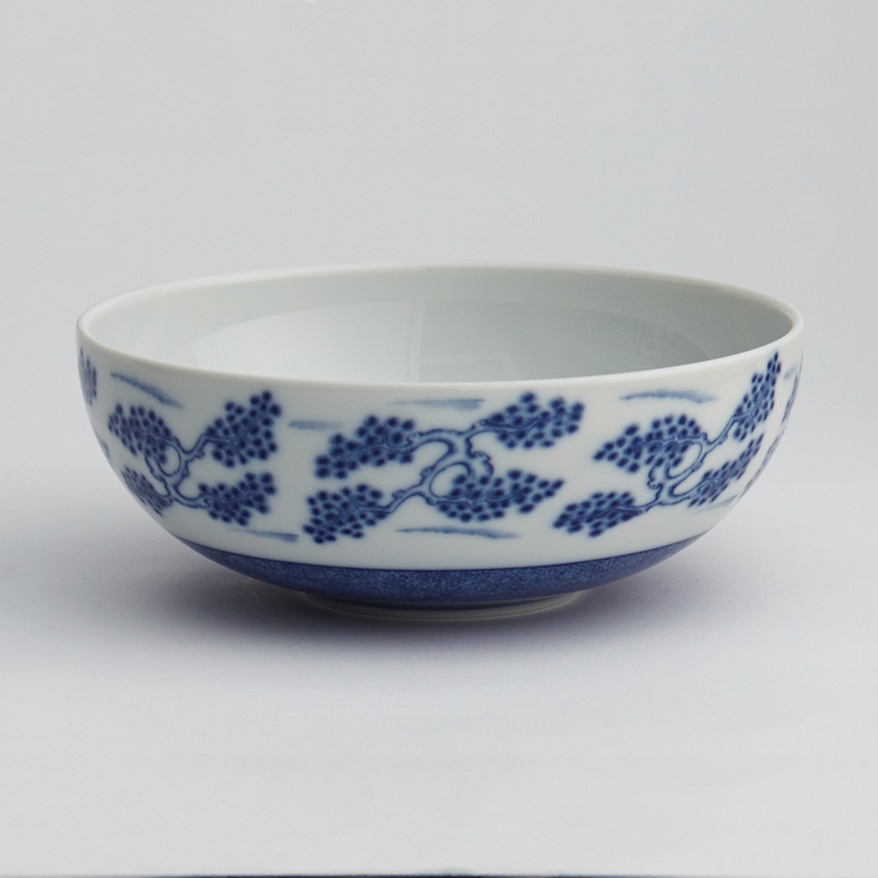 Mottahedeh Blue Shou Cereal Bowl