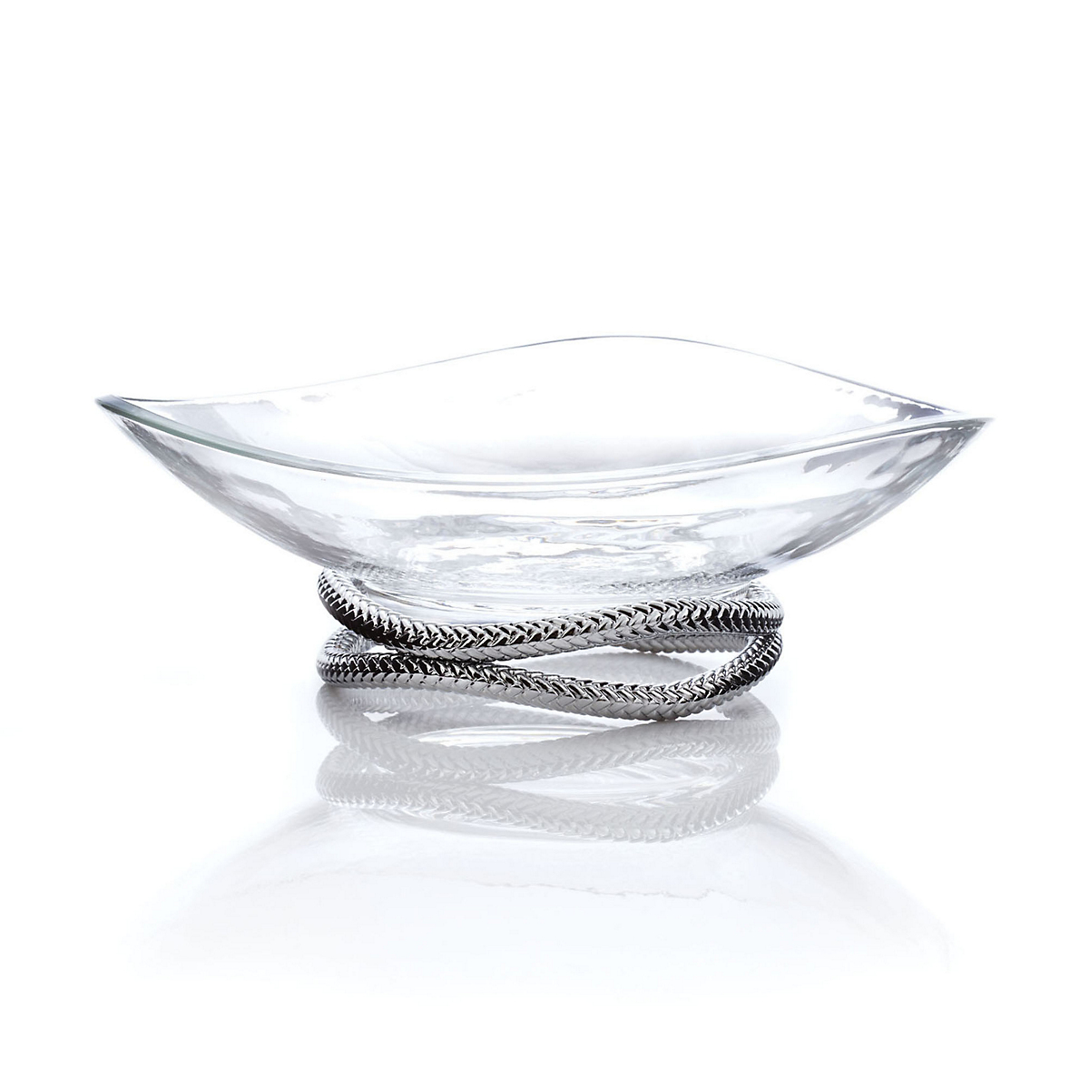 Nambé Braid Centerpiece Bowl