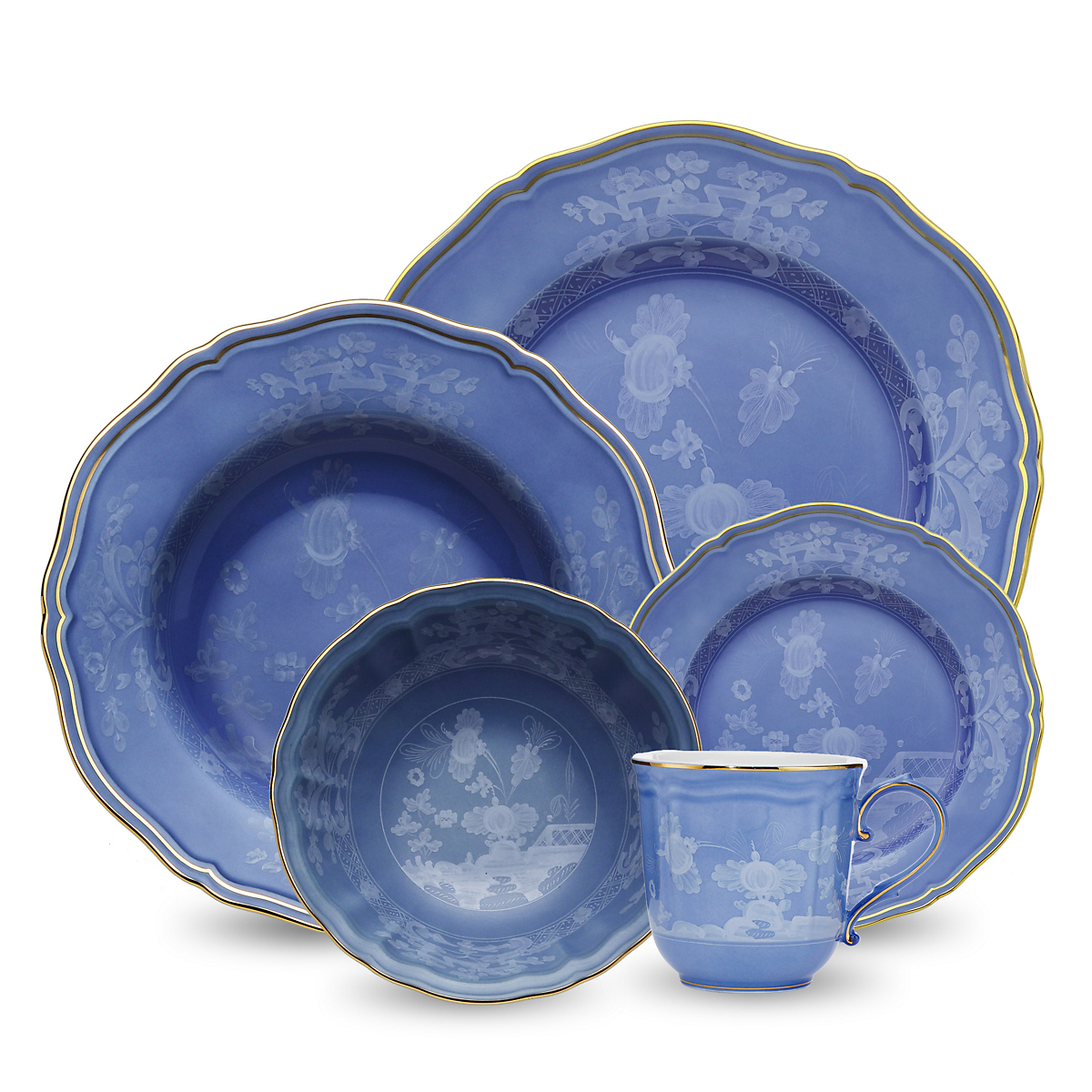 Richard Ginori Oriente Italiano Dinnerware, Pervinca