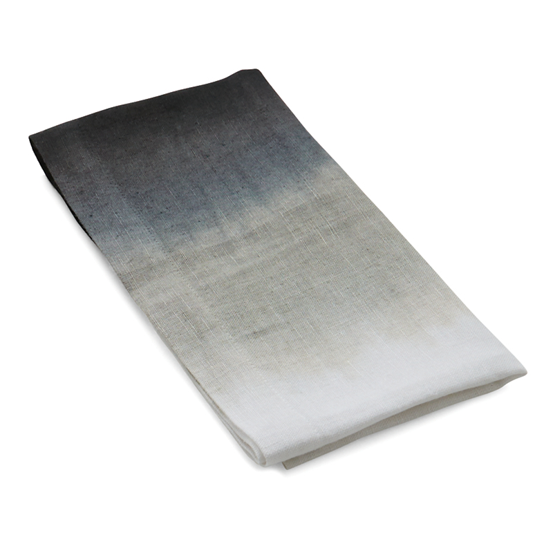 Michael Aram Grey Dip-Dye Dinner Napkin