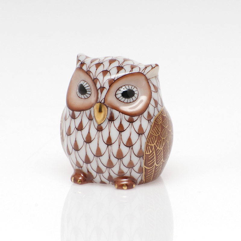 Herend Owlet, Chocolate