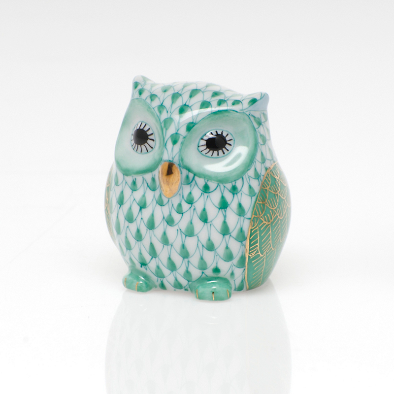 Herend Owlet, Green
