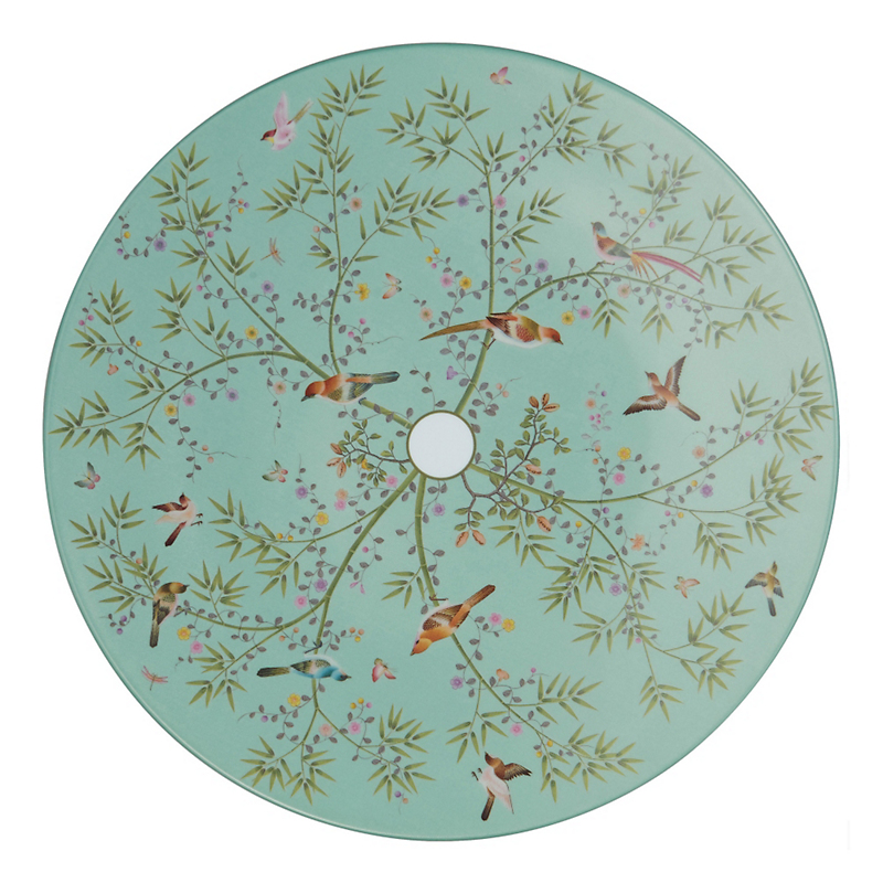 Raynaud Paradis Buffet Plate, Turquoise