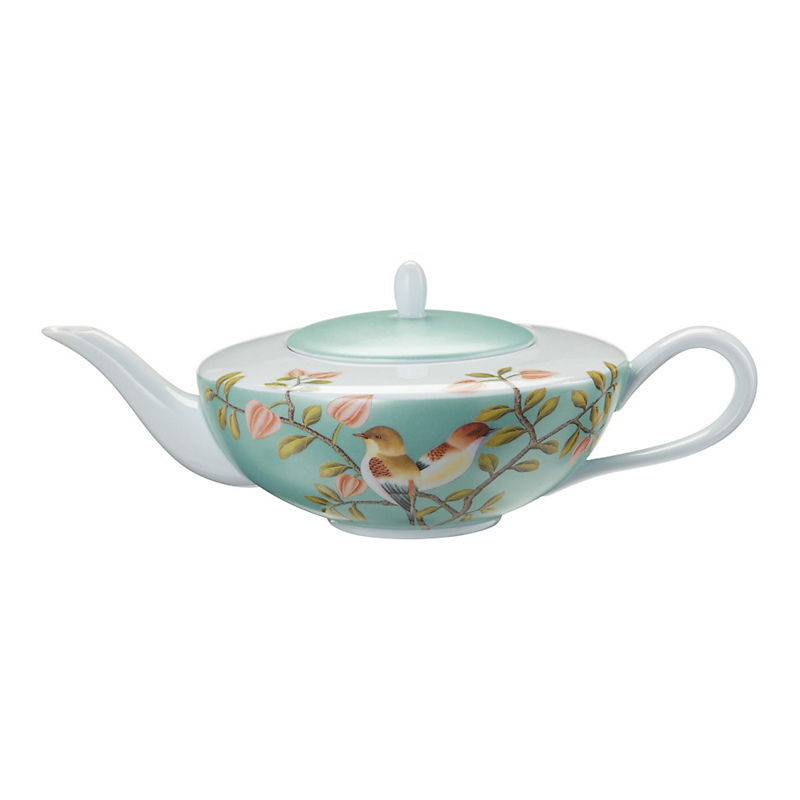 Raynaud Paradis Tea/Coffee Pot, Turquoise