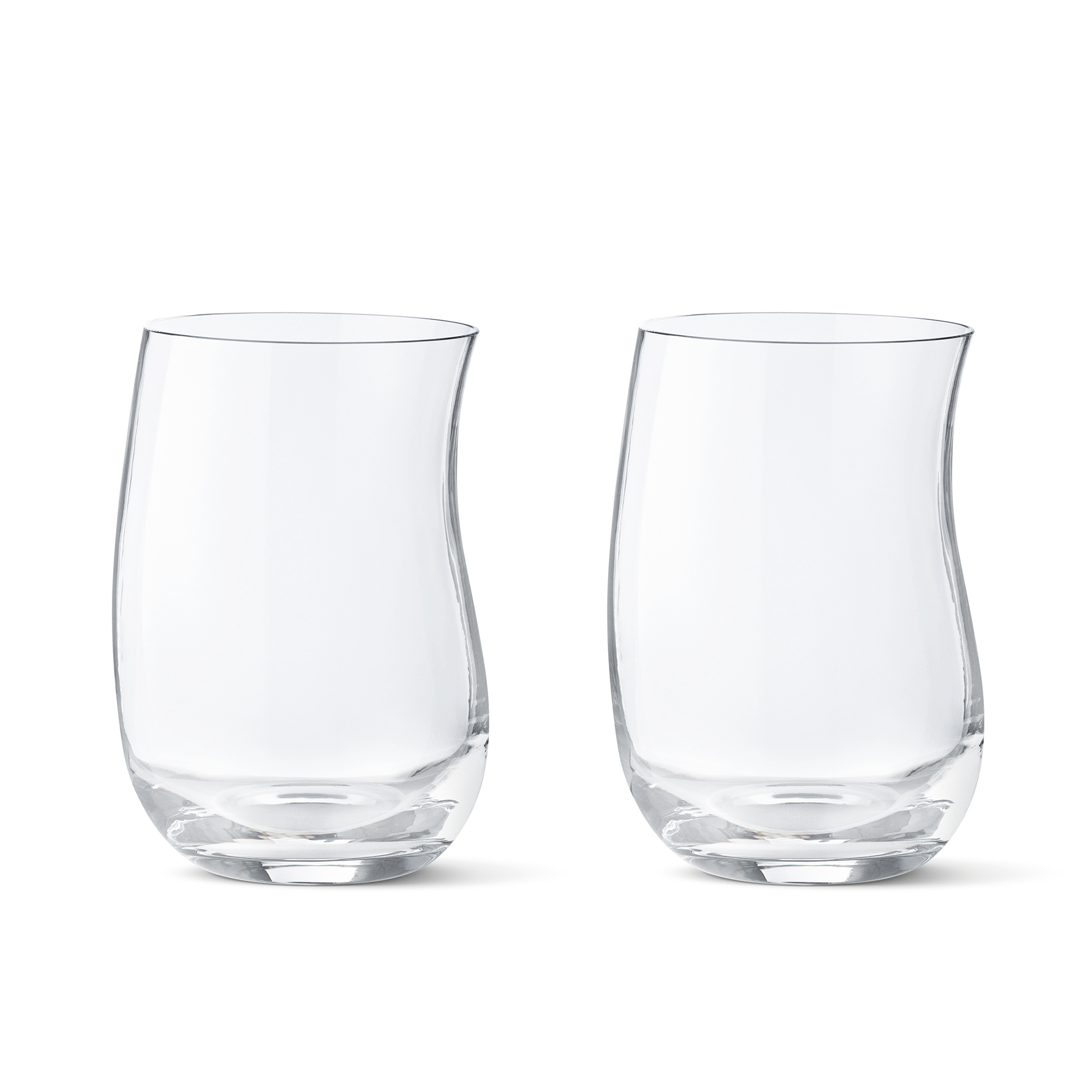 Georg Jensen Cobra Glass Tumblers, Set of 2