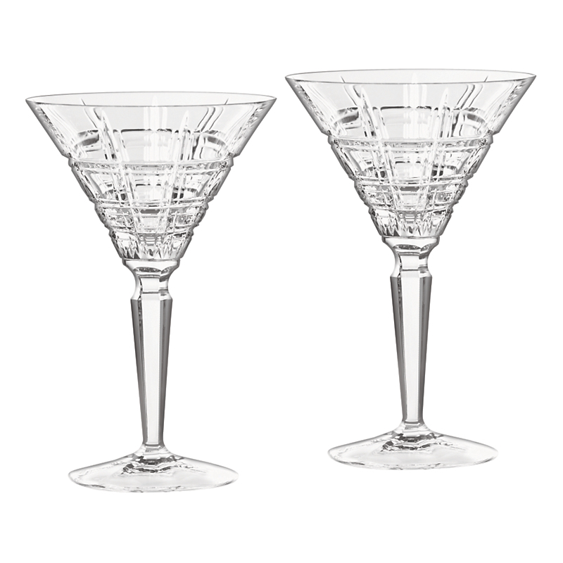 Marquis by Waterford Crosby Martini Glasses, Set of 2