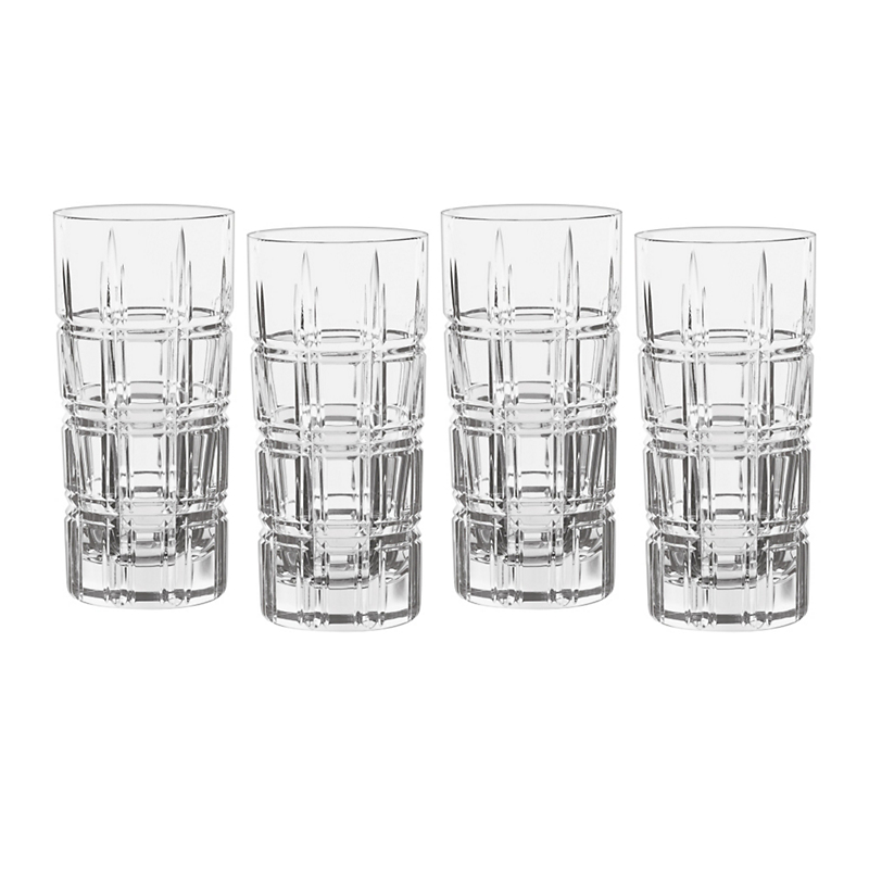 Marquis by Waterford Crosby Highballs, Set of 4