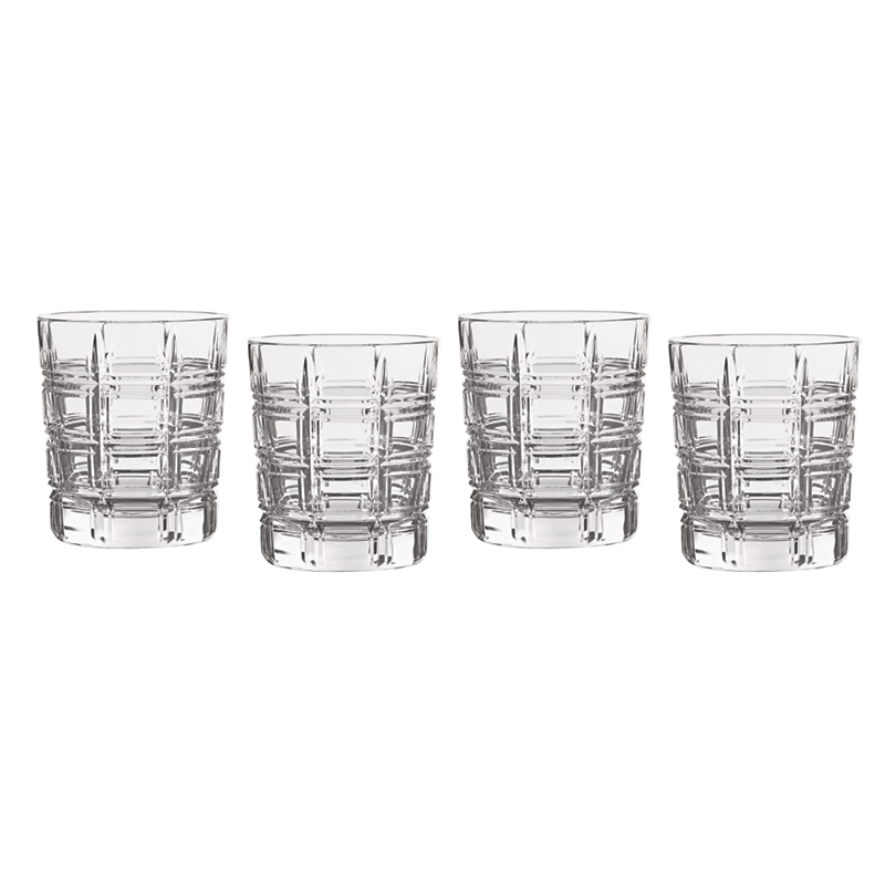 Marquis by Waterford Crosby Double Old-Fashioneds, Set of 4