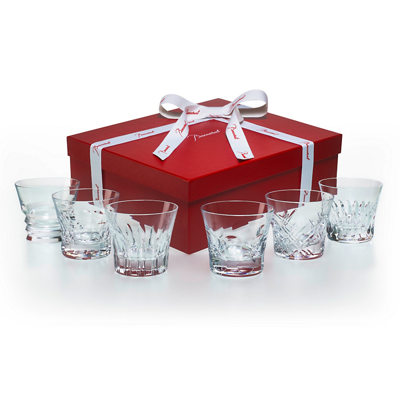 Baccarat Everyday Tumblers #3, Set of 6 Assorted