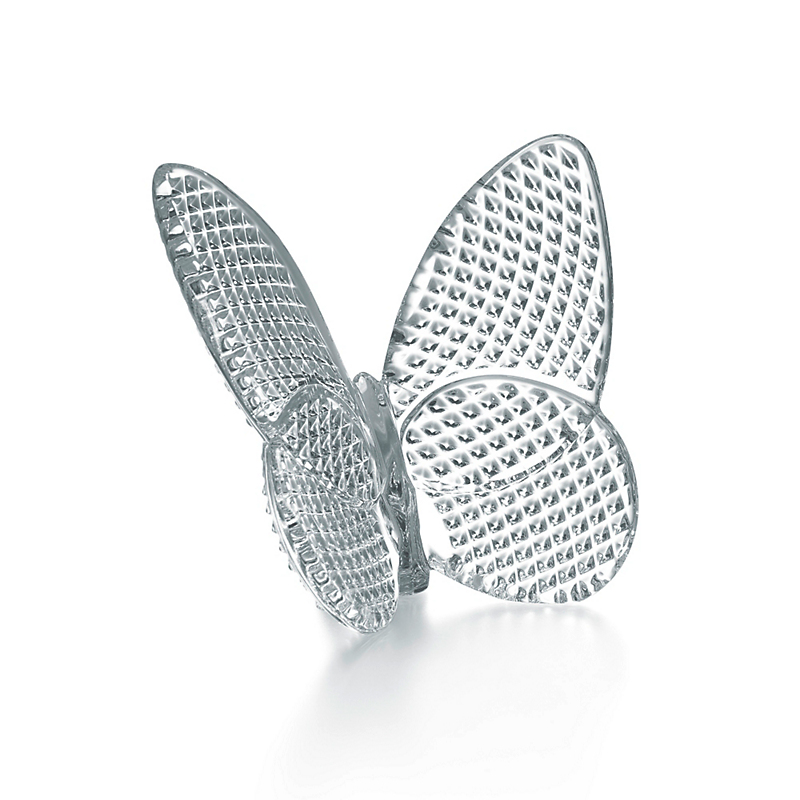 Baccarat Lucky Butterfly, Clear Diamant