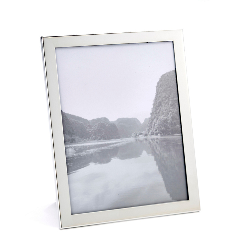 Picture frames home accents gumps san francisco salisbury narrow pewter frames jeuxipadfo Images
