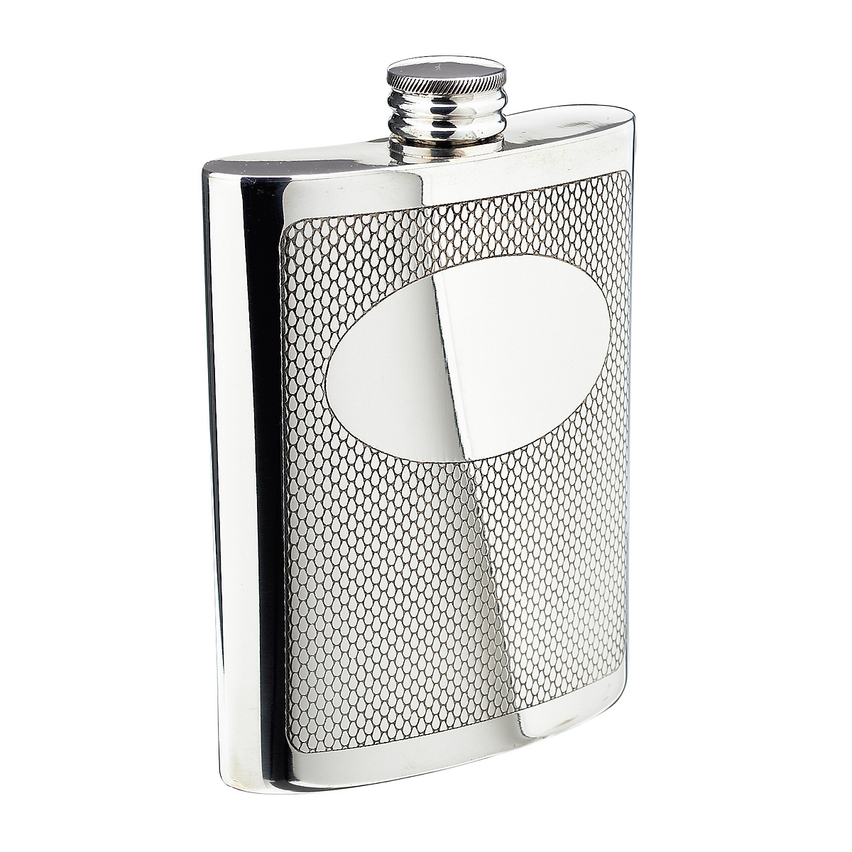 Salisbury Embossed Hip Flask