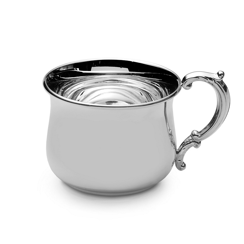 Gump's Silver Chubby Baby Cup