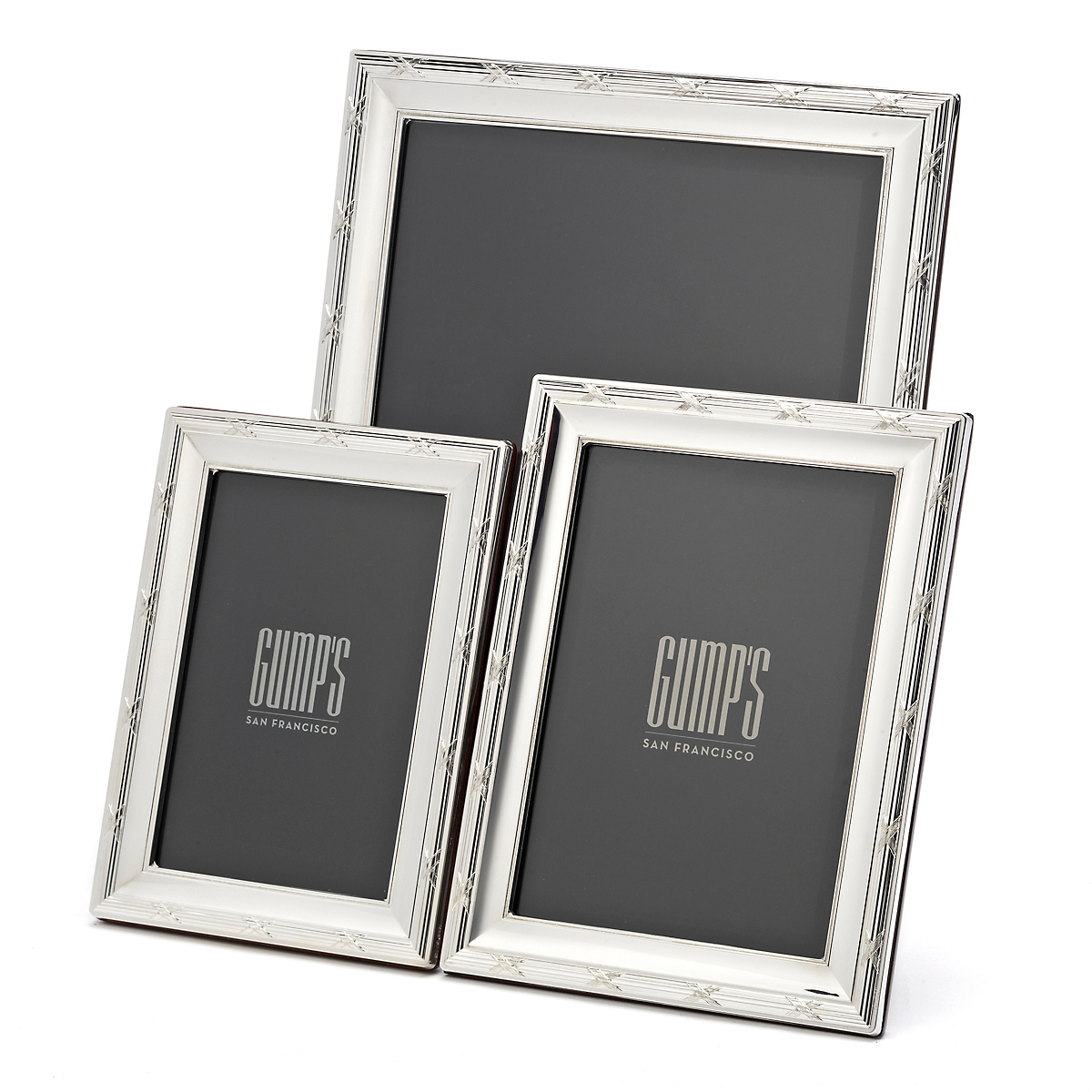 Sterling Silver Ribbon Frames