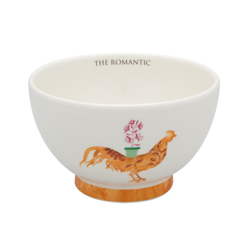 Casa Alegre Rooster Cereal Bowl, The Romantic