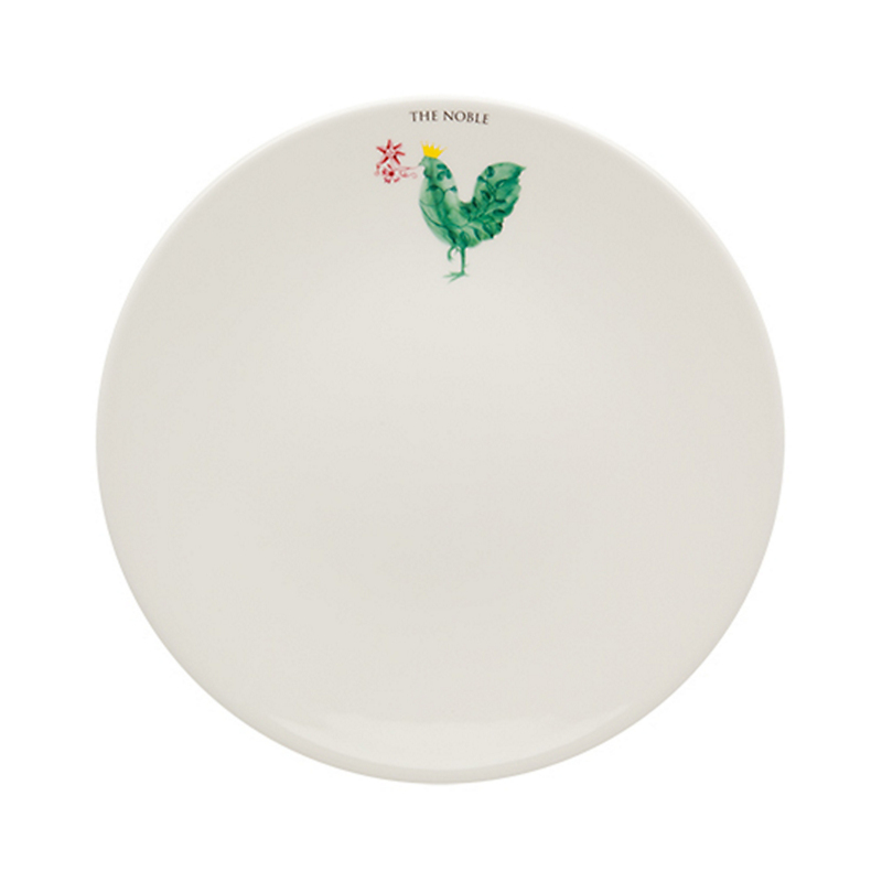 Casa Alegre Rooster Dinner Plate, The Noble