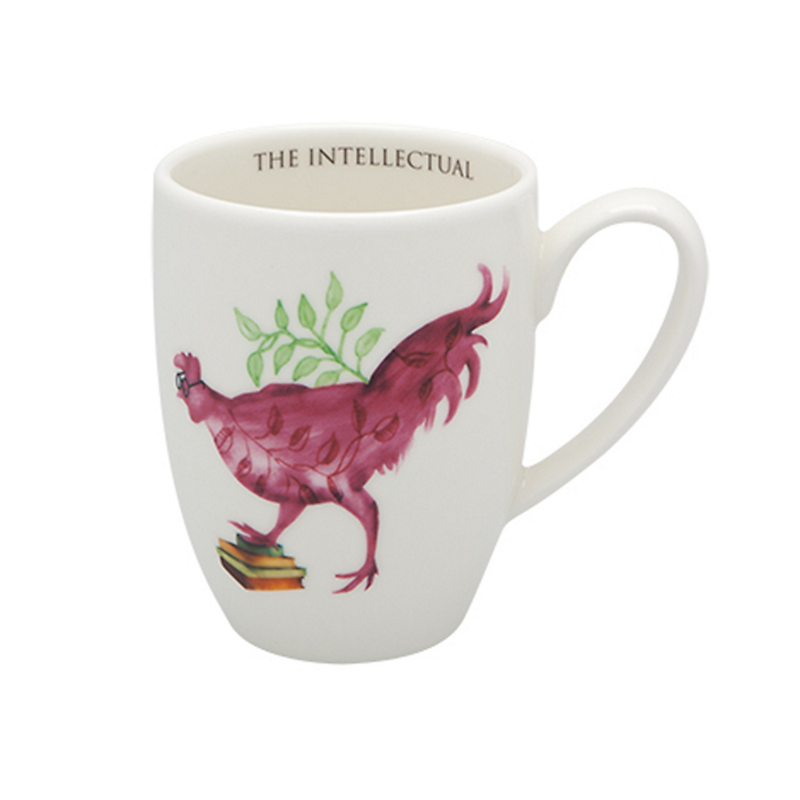 Casa Alegre Rooster Mug, The Intellectual