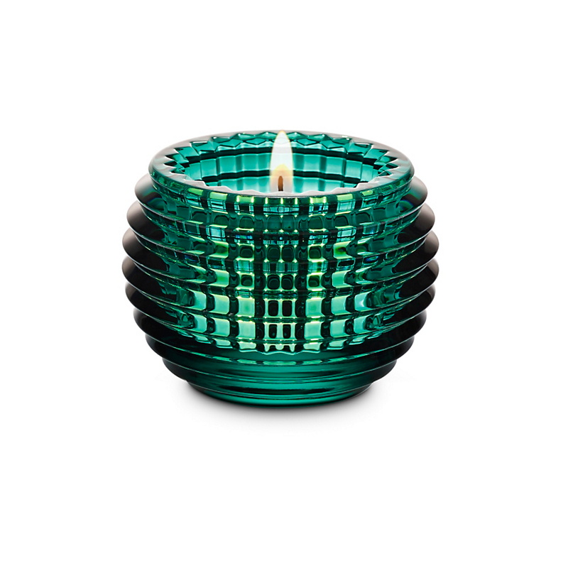 Baccarat Eye Votive, Green