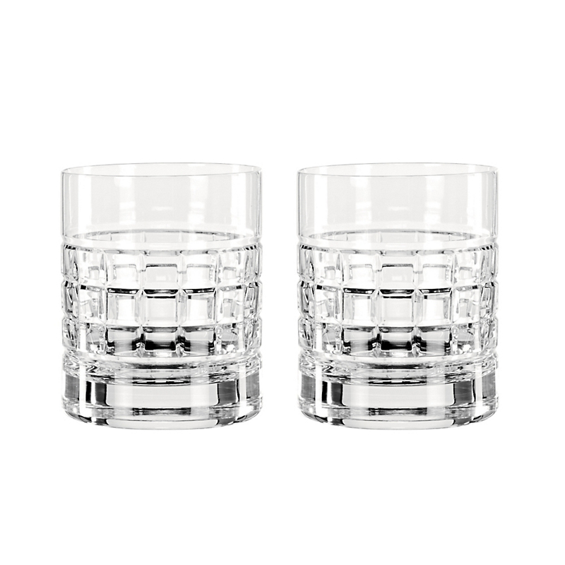 Waterford London Double Old-Fashioneds, Set of 2