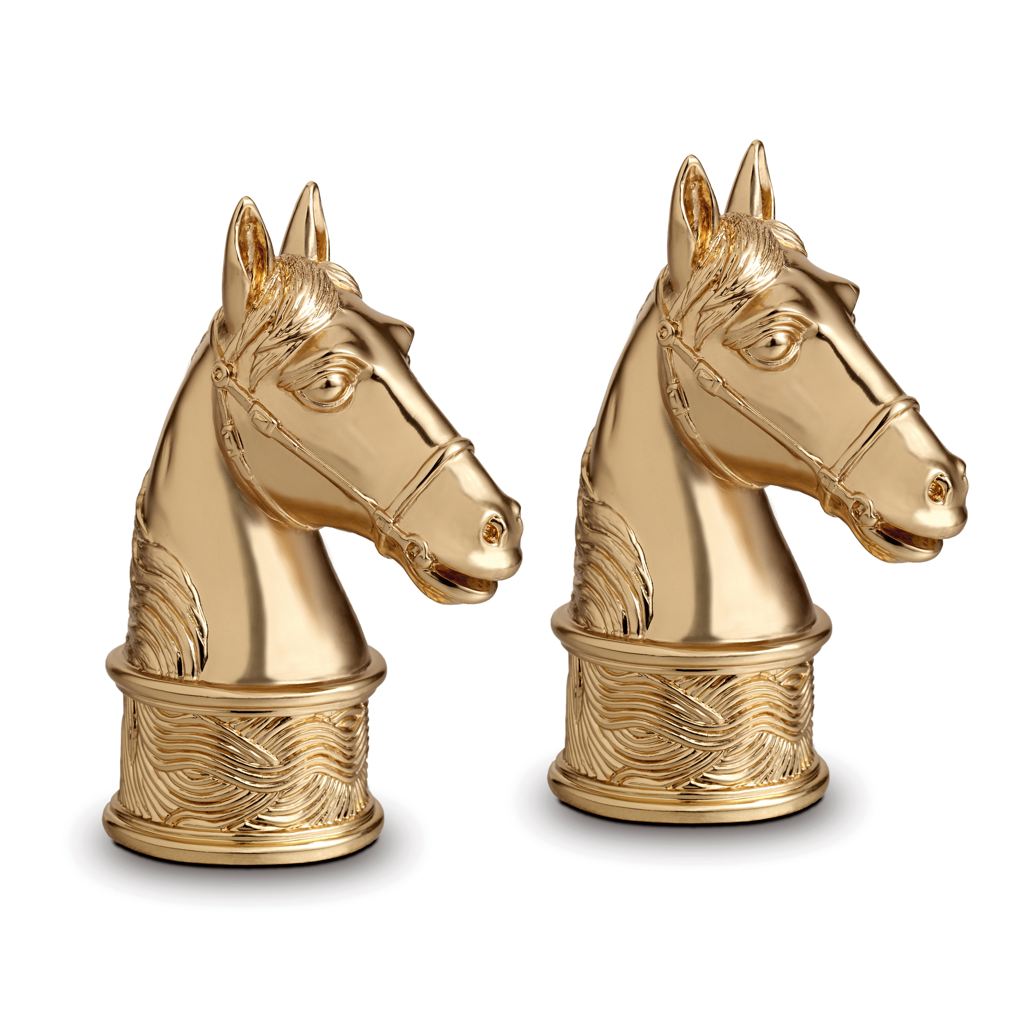 L'Objet Horse Salt & Pepper Shakers