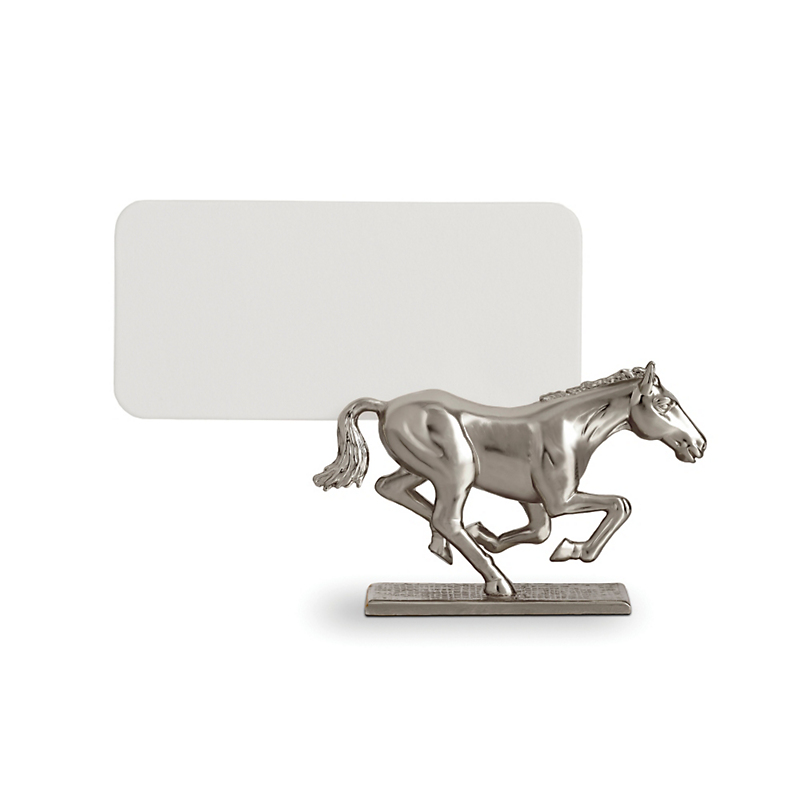 L'Objet Horse Placecard Holders, Set of 6