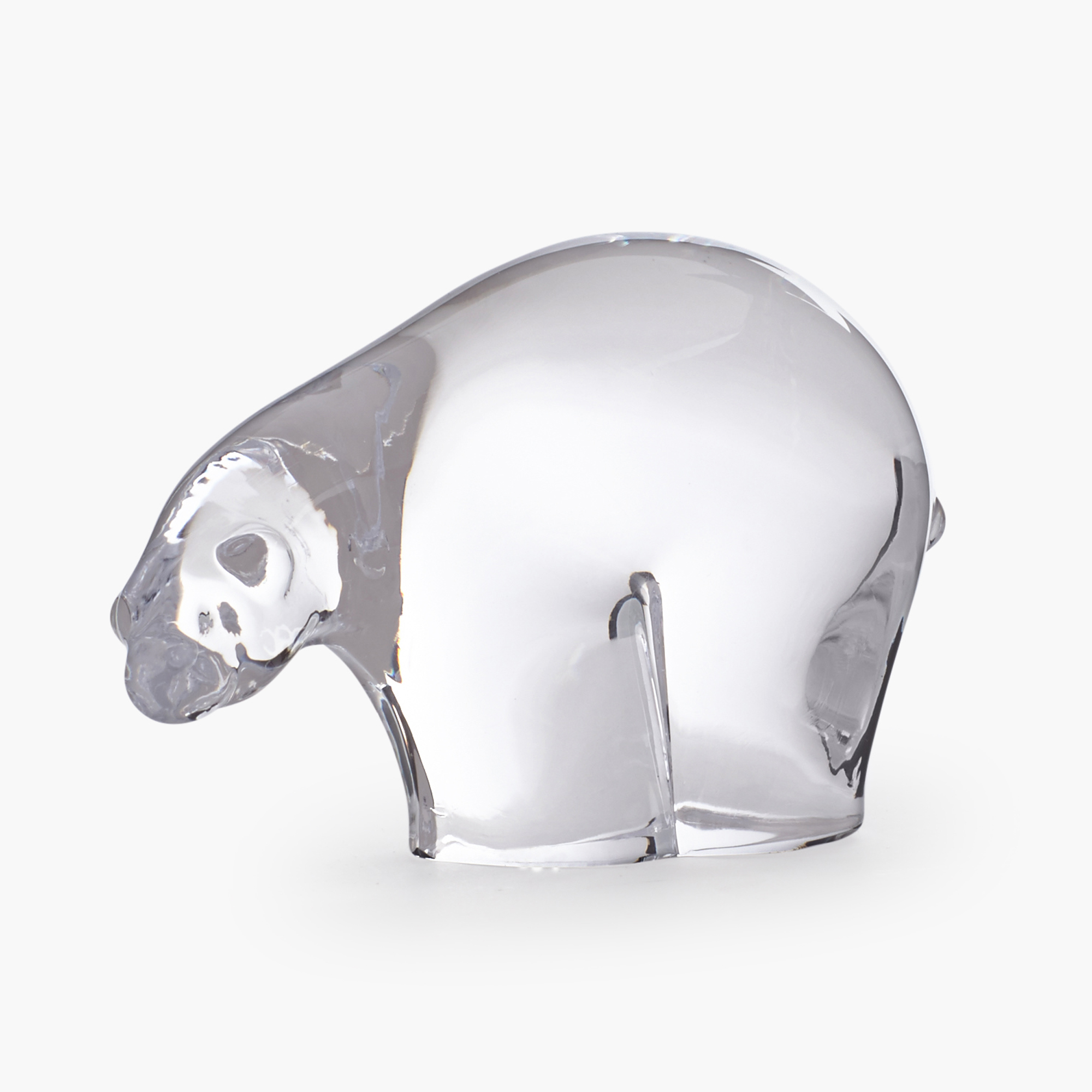 Simon Pearce Clear Polar Bear, Small