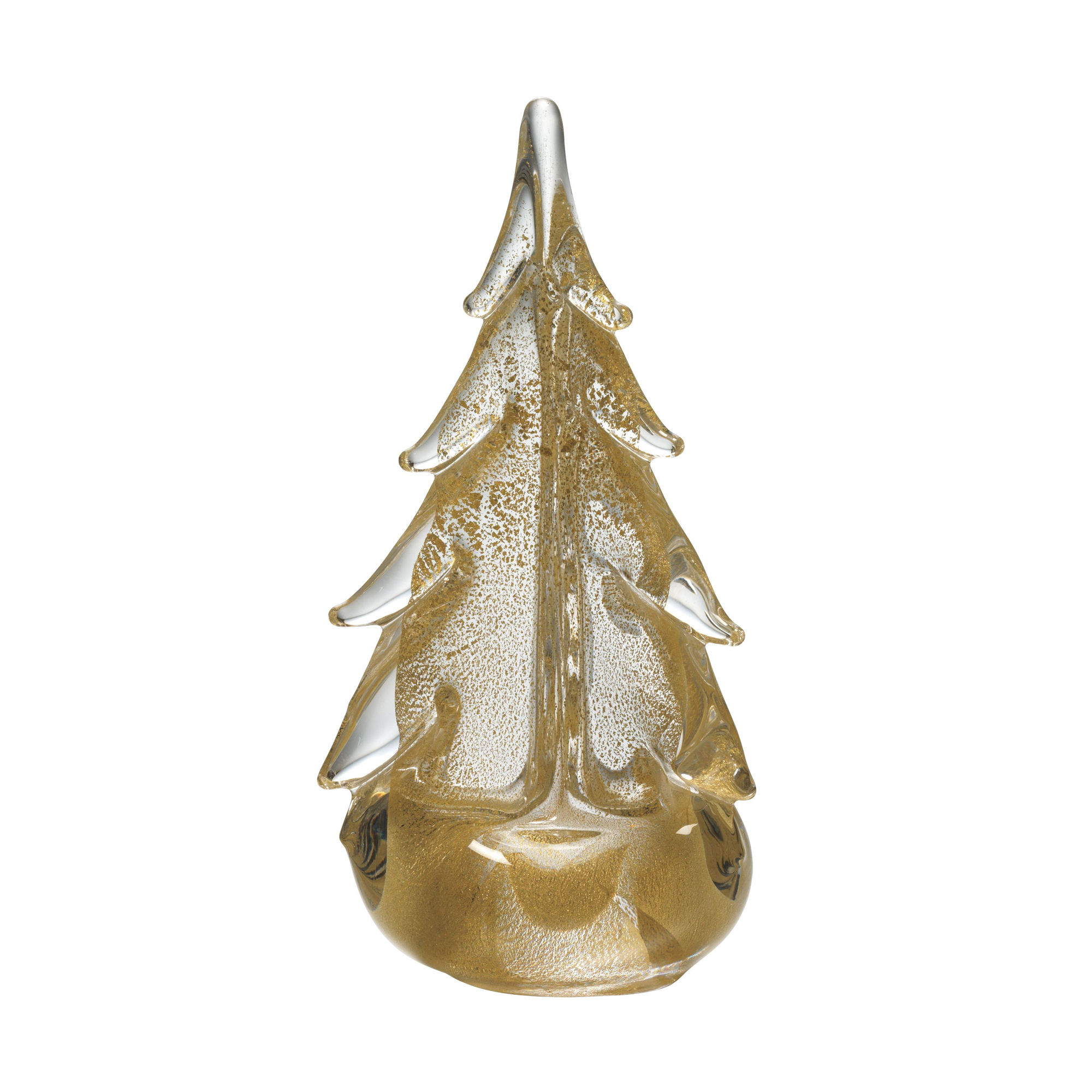 Simon Pearce Vermont 24-karat Gold Evergreen Tree