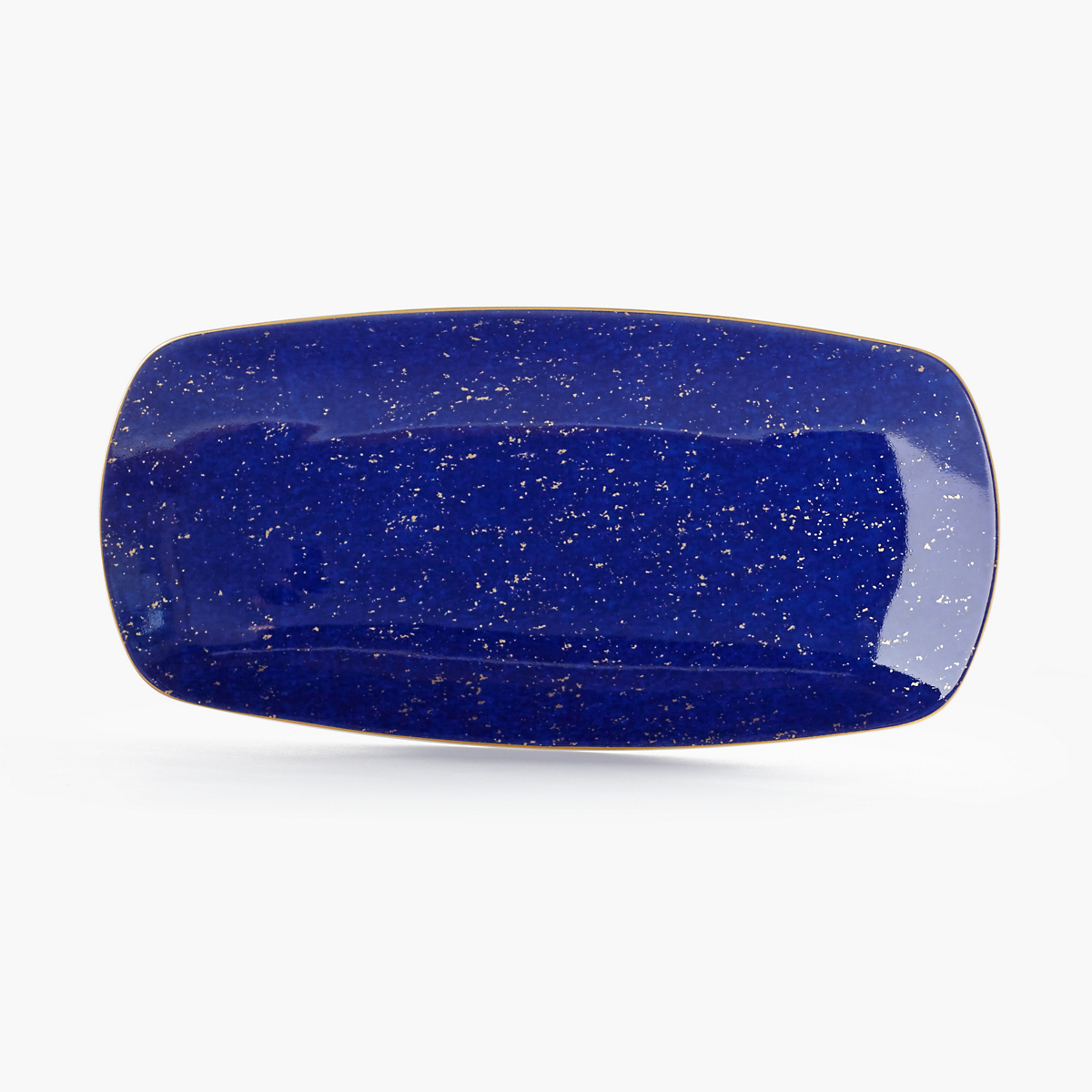 L'Objet Medium Rectangular Lapis Tray