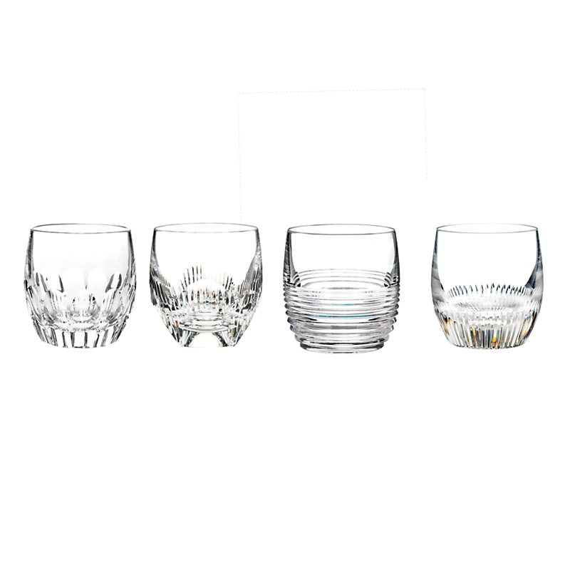 Waterford Mixology Double Old-Fashioned Glasses, Set of 4